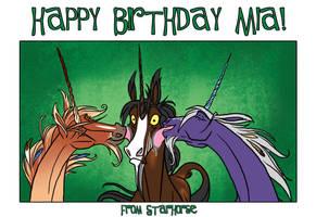 Happy Birthday to LOSMIOS by Starhorse