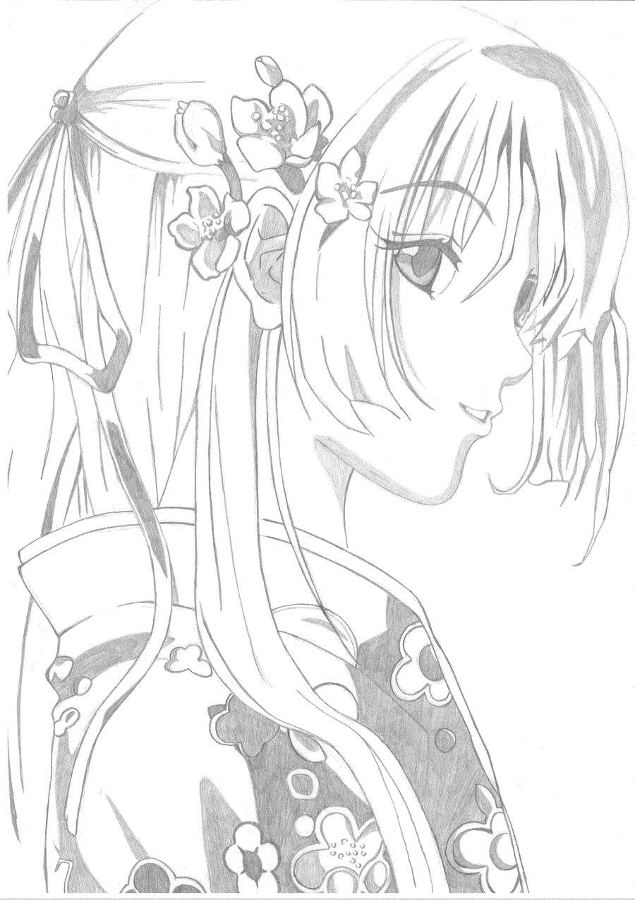 Manga Prinzessin Ausmalbilder : Ausgezeichnet Manga Engel Malvorlage Zeitgen Ssisch Malvorlagen