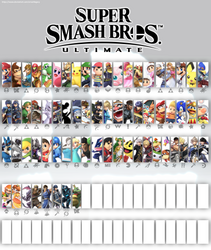 Smash Bros Ultimate Update 3.5 (White) by SmashLegacy