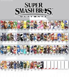 Smash Bros Ultimate Update 6 (White) by SmashLegacy