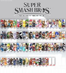 Smash Bros Ultimate Update 7 (White) by SmashLegacy