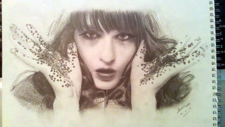 Florence Welch (Florence and the Machine) by Nath-Owen