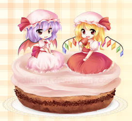 Remi and Flandre Cake