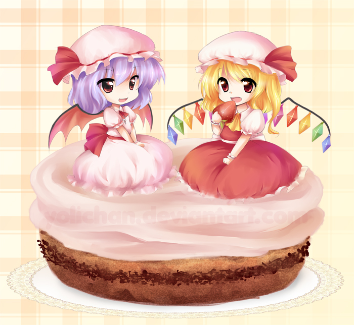 Feliz Cumple Orphen Or.Warm / Nighford / Kirisame / X / laweaquesea aka Zera Remi_and_flandre_cake_by_yolichan-d4zaeog