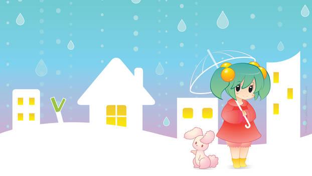 Sweet Rain Drops Live Wallpaper