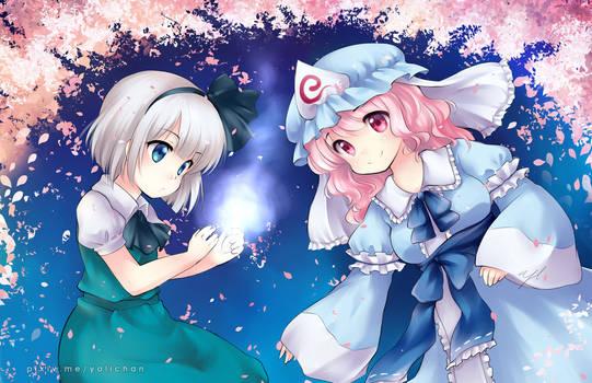 Youmu and Yuyuko