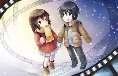 Kayo and Satoru