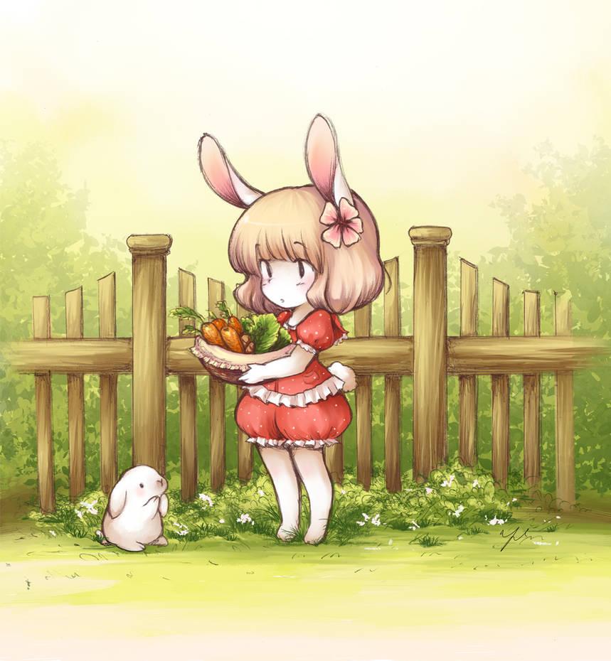 Bunny by yolichan