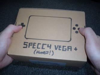 Spectrum Vega+ finished prototype console