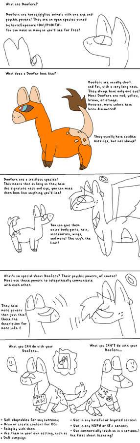 Open Species - Doofers!