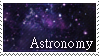 Astronomy Stamp by Siarczek