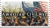 Civil War stamp by Siarczek