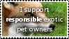 Exotic Pet Ownership