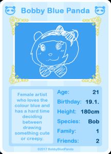 BobbyBluePanda's Profile Picture