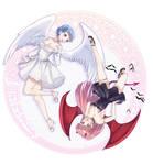 Angel Marianne And Devil Hilda