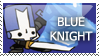 Castle Crashers: Blue Knight by PetrifiedMoon