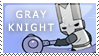 Castle Crashers: Gray Knight by PetrifiedMoon