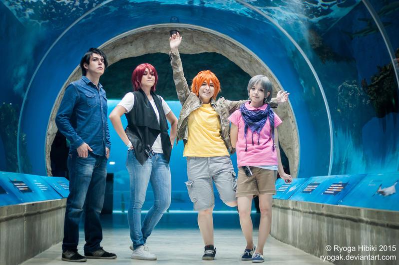 Samezuka team - Free by Ryogak