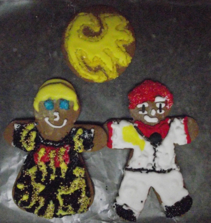 Umineko Cookies, Beato and Battler by PrincessFawna