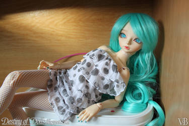 Light Turquoise I by Dynamene-Dolls