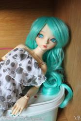 Light Turquoise II by Dynamene-Dolls