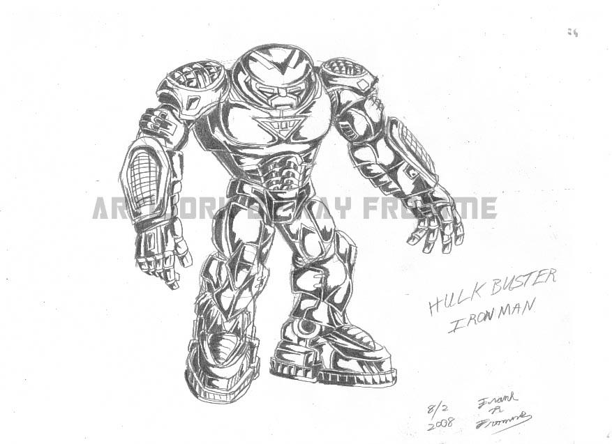 hulkbuster iron man by almightyrayzilla on deviantart