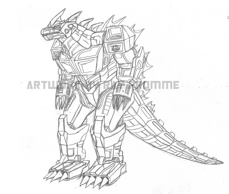 Mecha-Godzilla concept by AlmightyRayzilla on DeviantArt
