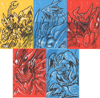 Sketchy Cards 2012 Part I by AlmightyRayzilla