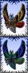Trendmasters Mothras by AlmightyRayzilla