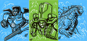 Sketchie Cards for G-Fest XXI 1/2