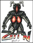 Zetton marker sketch by AlmightyRayzilla