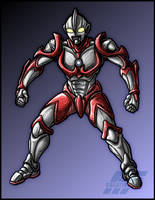 Ultraman Iron by AlmightyRayzilla