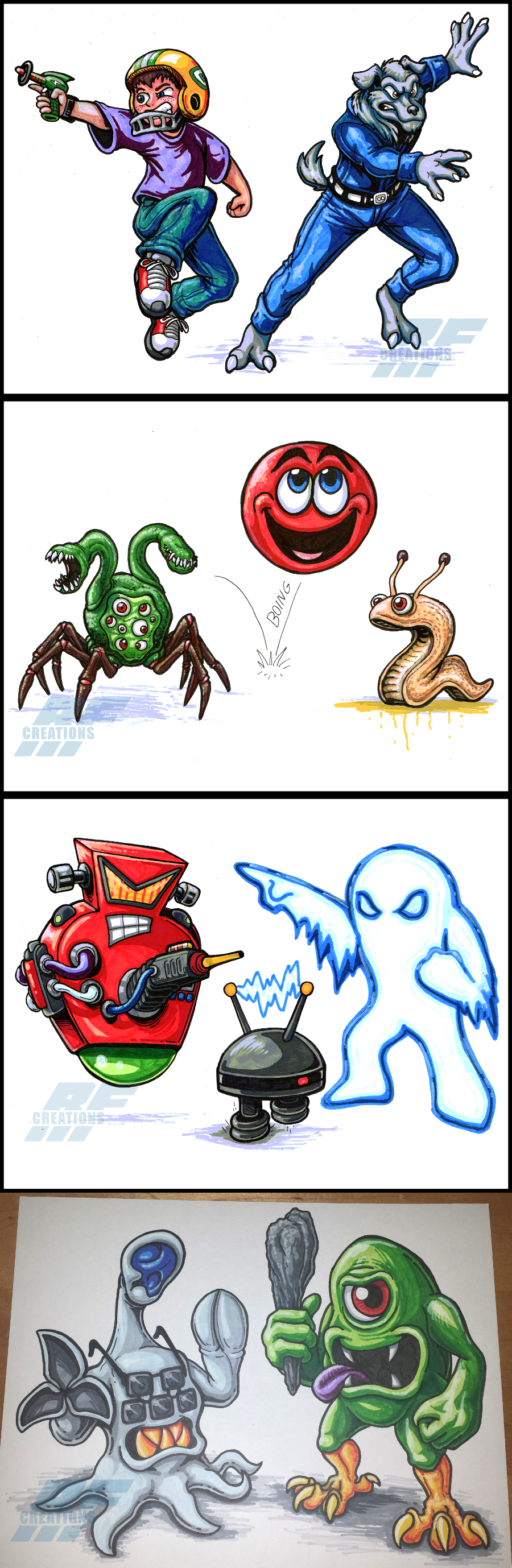 Inktober Stuff 1 - Commander Keen marker sketches by ...