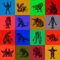 Powered Kaiju by AlmightyRayzilla