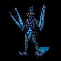 Powered Kaiju - THE SPACE NINJA by AlmightyRayzilla