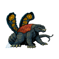 Powered Kaiju - THE POISON GAS MONSTER by AlmightyRayzilla