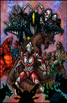 Ultraman 50th Anniversary Tribute by AlmightyRayzilla