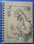 Graytone Godzilla by AlmightyRayzilla
