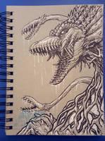 Graytone Biollante by AlmightyRayzilla