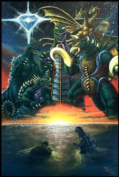 GODZILLA VS GIGAN (Toybox Edition)