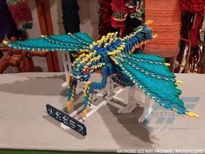 3D Perler Bead Megaguirus