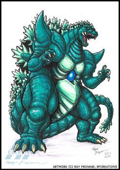 Patreon Commish - Super Godzilla
