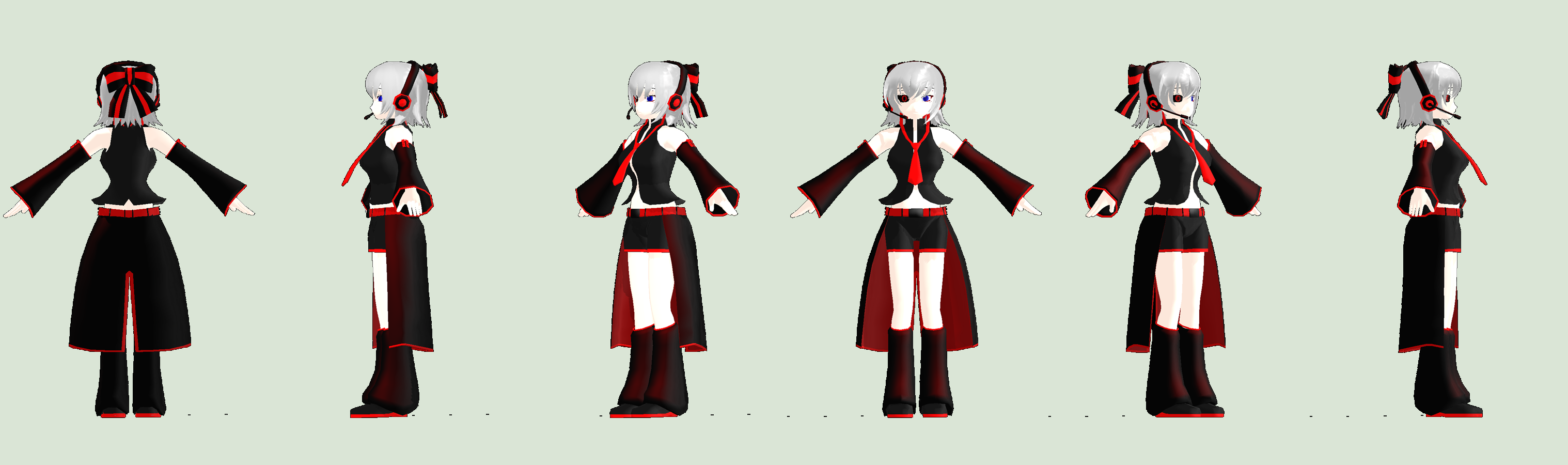 MMD Newcomer - Hako Yuwane (AN003 Contest) by mother-noroi