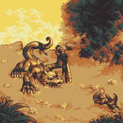 Lizard Warrior by Kaiseto
