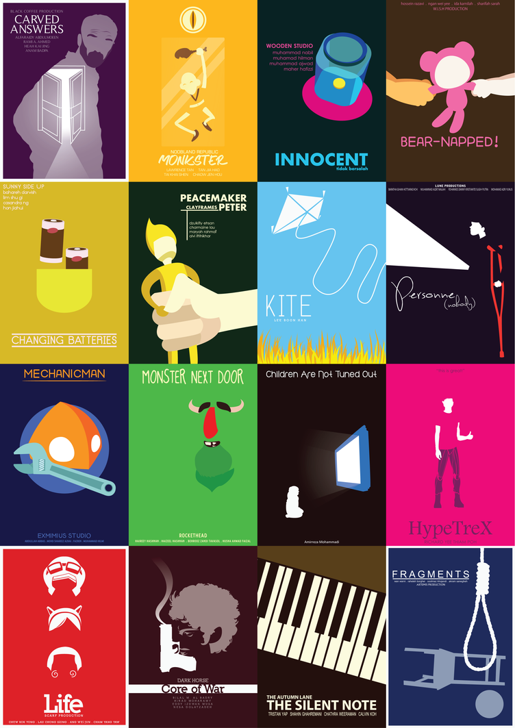 Minimalist Poster - All in One Page by Blakant on DeviantArt