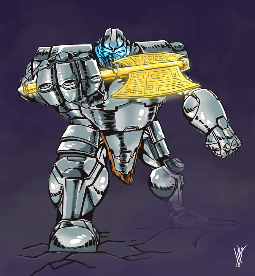Armor Dude by Blakant
