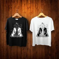 AS RUSTY EMPYREAN : serigala jalanan t-shirt by Blakant