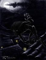 Strix - Strzyga by Gwallchmai