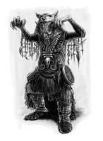 Orc Shaman by Gwallchmai