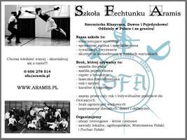 Aramis Fencing School by Gwallchmai